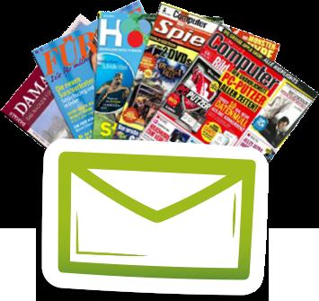 Kostenloser Newsletter Zeitschriftenabo