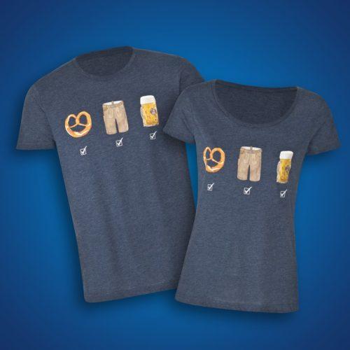 Zwei Wiesn T-Shirts von Paulaner