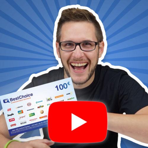 100€ BestChoice-Gutschein gewinnen