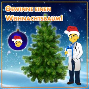 Gewinnspiel: Gewinne einen Weihnachtsbaum