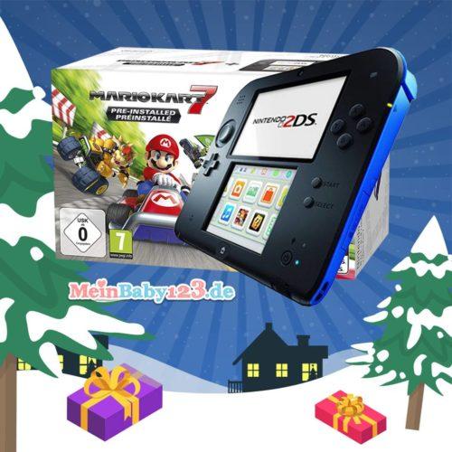 Nintendo 2DS inkl. Mario Kart 7 gewinnen