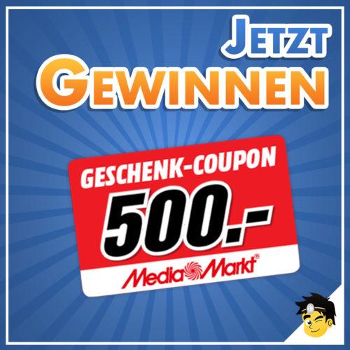 Gewinnspiel MediaMarkt 500e