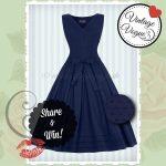 Elegantes Vintage Kleid gewinnen