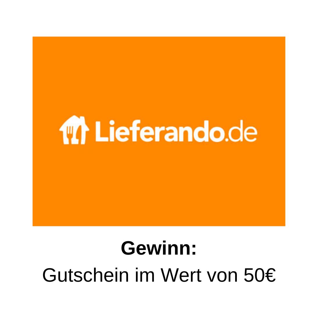 20€ Lieferando Gutschein gewinnen I Glitzerfrosch.de