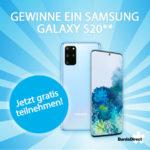 Samsung Galaxy S20 gewinnen