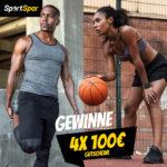 100€ SportSpar-Gutschein gewinnen