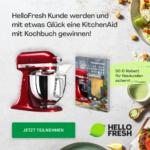 KitchenAid Maschine samt Kochbuch gewinnen