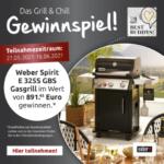 """Weber Gasgrill """"Spirit E 325S GBS"""" gewinnen"""