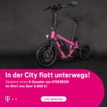 E-Scooter im Wert von über 3.400€ gewinnen